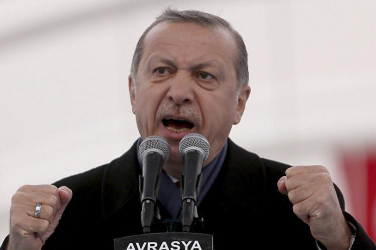 Ερντογάν, Παγκόσμιος πόλεμος, Συρία, Τουρκία, Αφρίν,