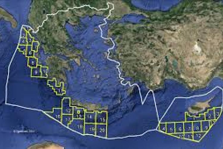 Φυσικό αέριο, υδρογονάνθρακες, Μεσόγειος, Ελλάδα, Κύπρος, Τουρκία, κοιτάσματα