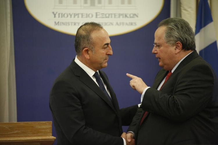 Ελληνοτουρκικά, Κοτζιάς, Τσαβούσογλου, Ακσόι, πρόκληση, ανακοίνωση, υπουργείο Εξωτερικών